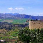 Panorama dalla città di Ronda