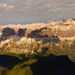 Panorama dalla Marmolada