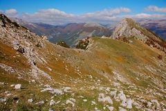 Panorama dall'alta Val di Rose