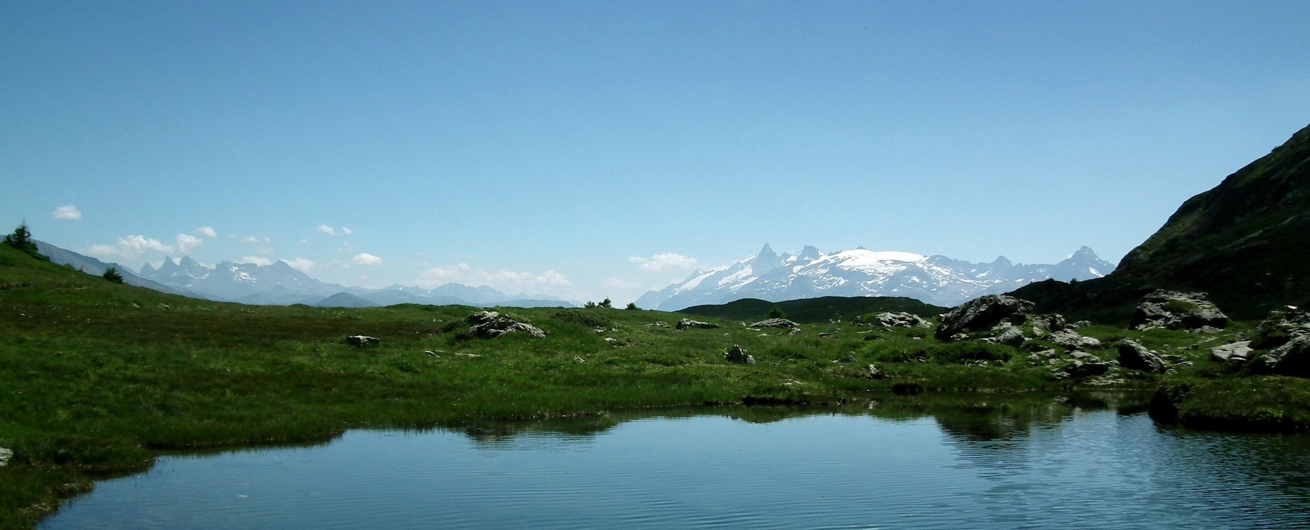 Panorama dans le massif du Taillefer