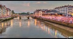 Panorama de la Nive // Fêtes de Bayonne 2014