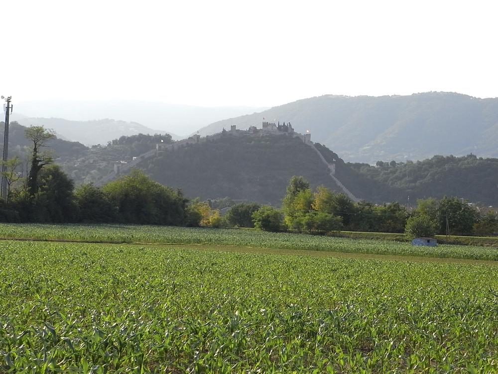 panorama del castello superiore