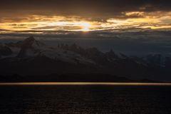Panorama der Berge, Spitzbergen