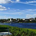 Panorama der Bleilochtalsperre- Blick vom Strandkaffee