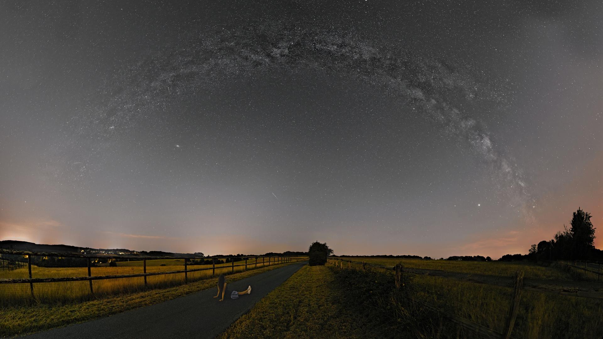 Panorama der Milchstraße