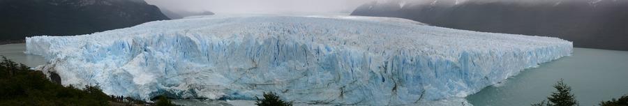 Panorama des Perito Moreno Gletschers