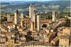 Panorama di San Gimignano