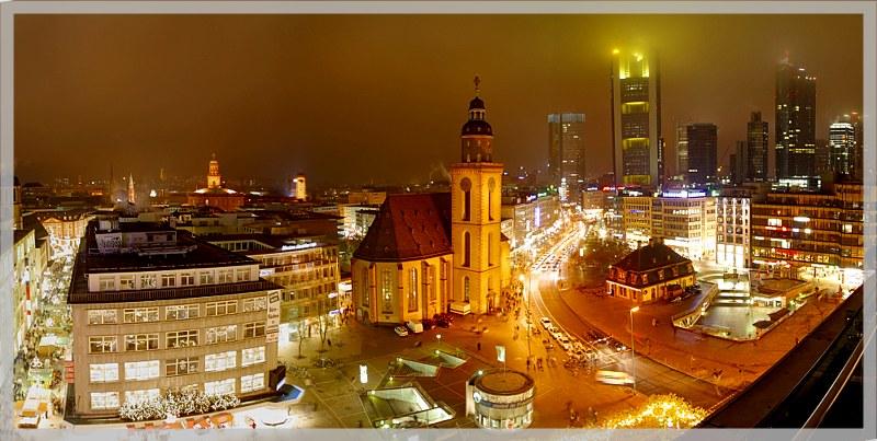 Panorama Frankfurt Zeil