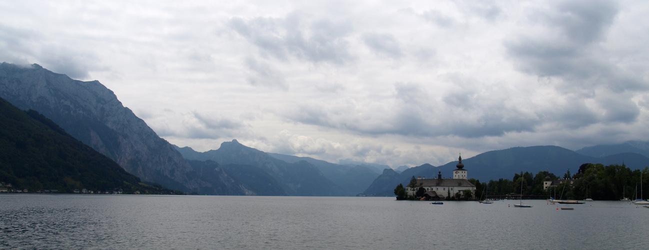 Panorama Gmunden Seeschloss Orth