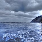 Panorama HDR - Stormy Sea