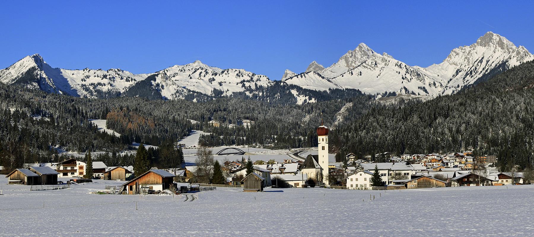 Panorama Heiterwang (Bezirk Reutte)