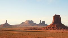 Panorama im Monument Valley