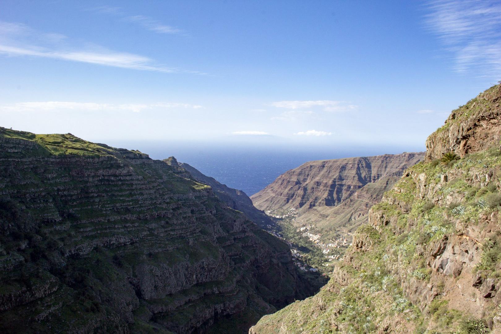 Panorama in das Valle Gran Rey