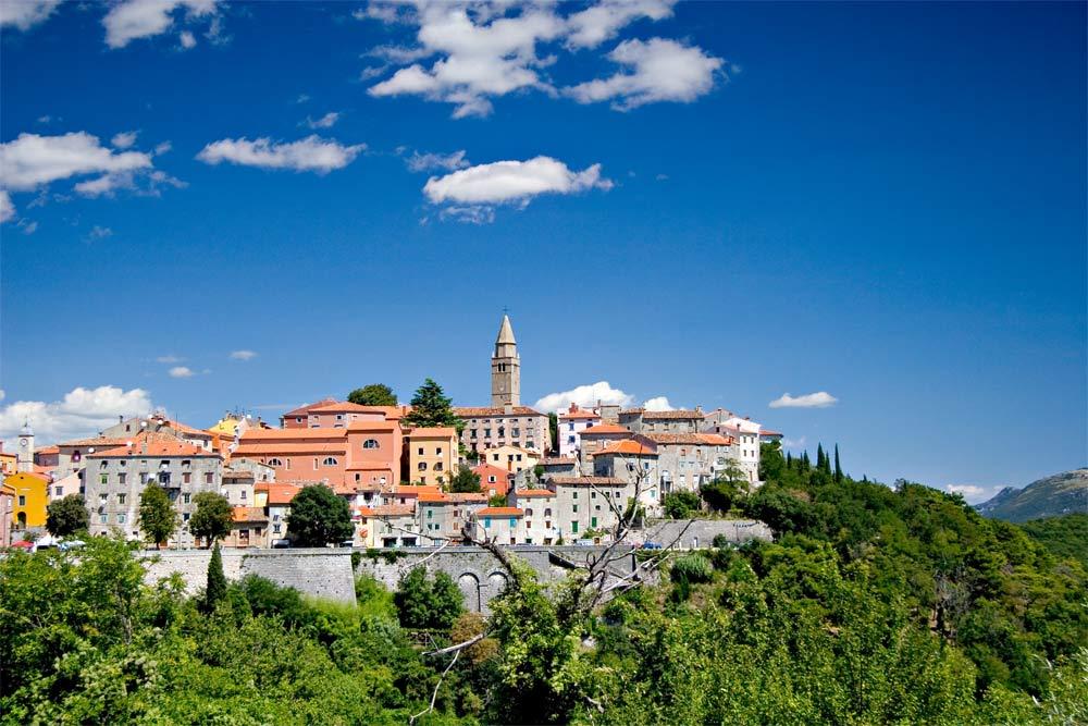 Panorama Labin (Istrien)