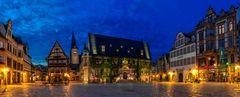 Panorama Markt Quedlinburg