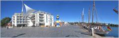 "Panorama ""Quartier Hafenspitze"" ©"