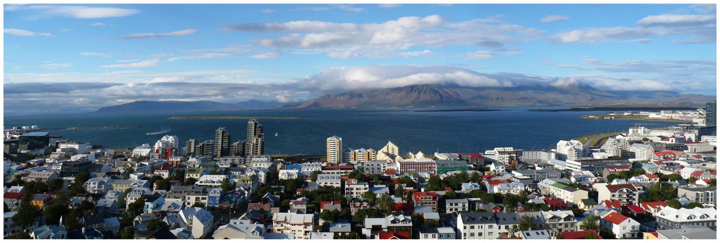 Panorama Reykjavik