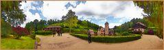 Panorama Schloss Mespelbrunn ©