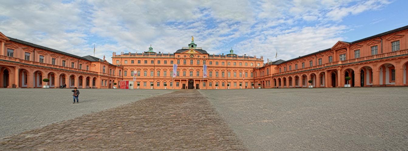 Panorama Schloss Rastatt