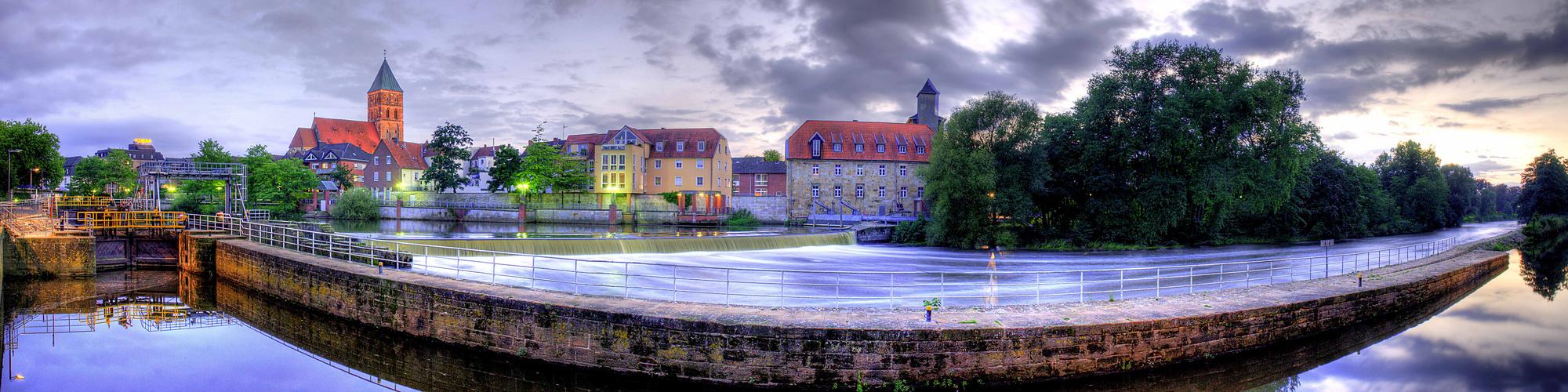 Panorama Stadt Rheine