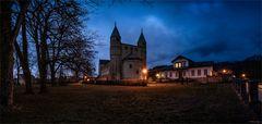 Panorama Stiftskirche St. Cyriakus / Gernrode