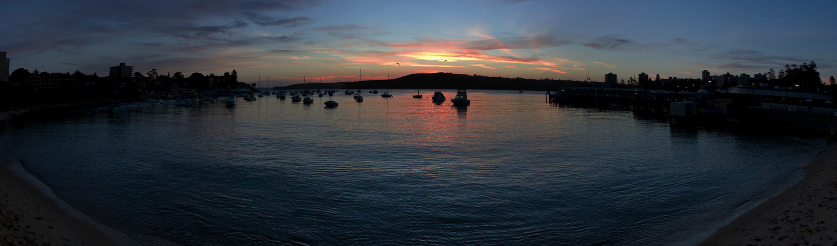 PANORAMA Sunset Manly