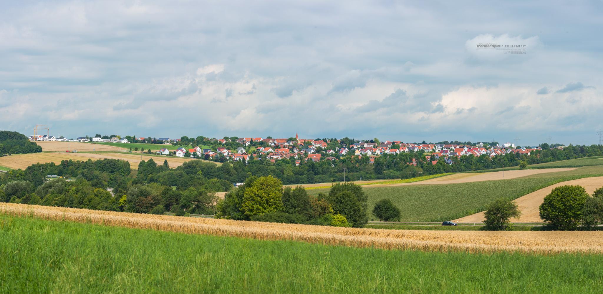 Panorama Ulm - Lehr, Baden-Württemberg
