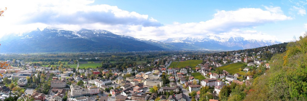 Panorama Vaduz