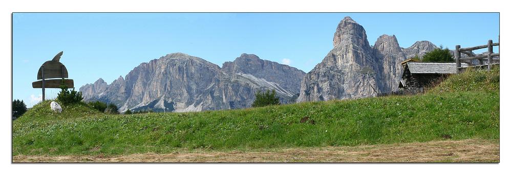 Panorama - Val Badia