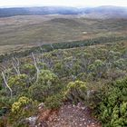 Panorama view from Cradle Mountain