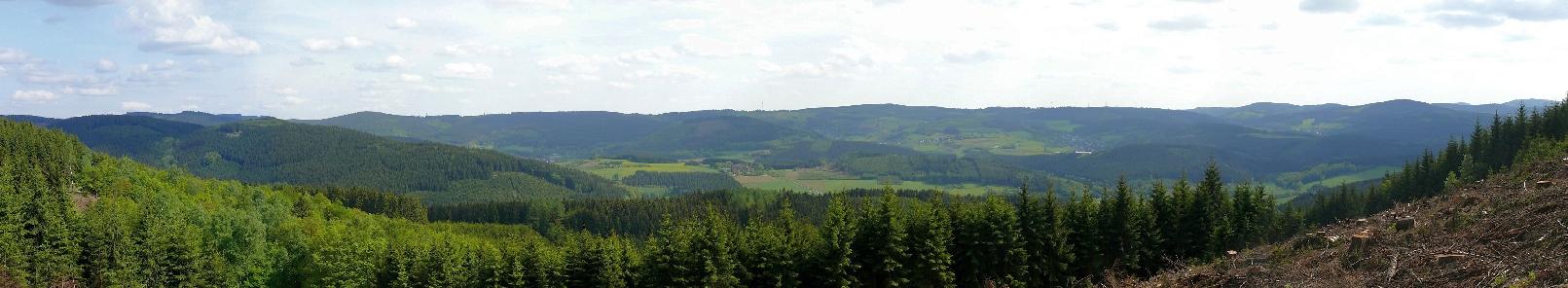 Panorama vom Ilberg