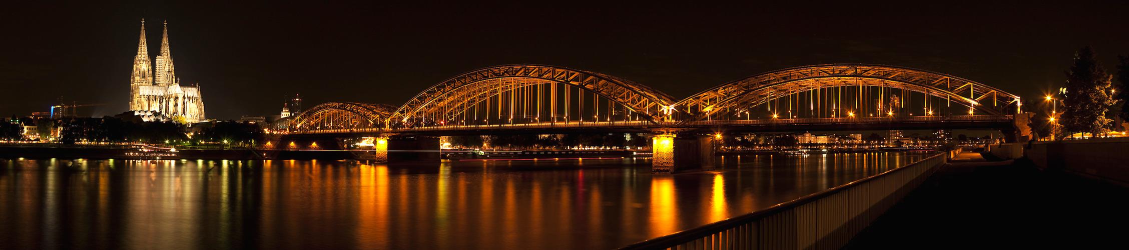 Panorama vom Kölner Dom