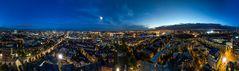 Panorama vom St. Michel, Hamburg
