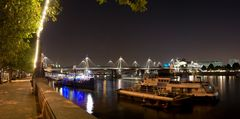 Panorama vom Themseufer