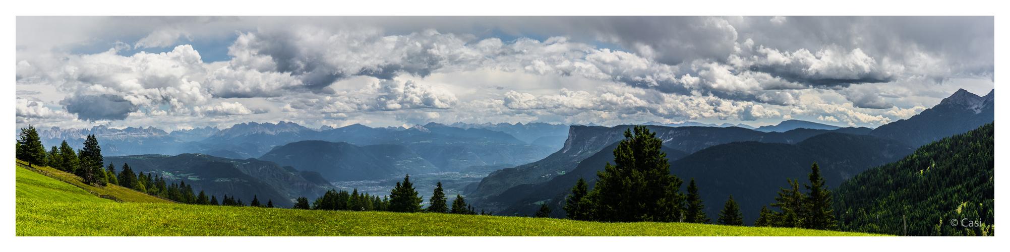 Panorama vom Vigiljoch