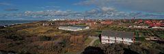 Panorama von Borkum-Stadt