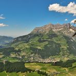 Panorama von der Bergstation Trüebsee