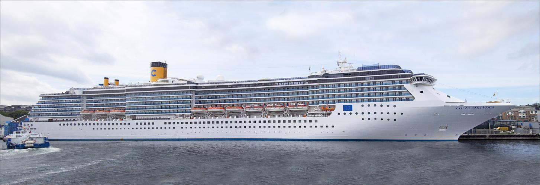 ..Panorama von der Costa Atlantica....