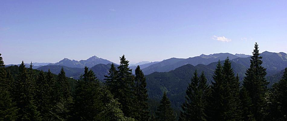 Panorama von der Gindelalm (Reload Farbversion)
