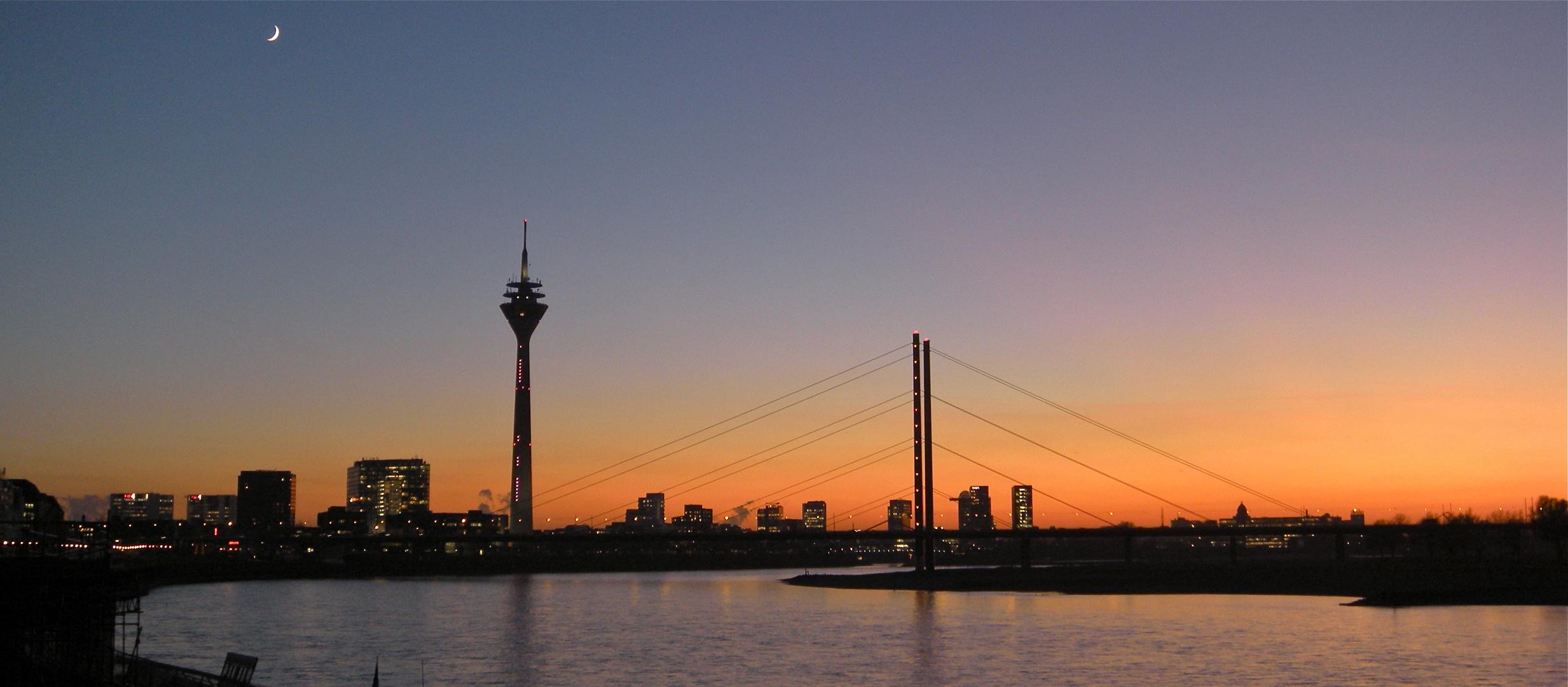 Panorama von Düsseldorf
