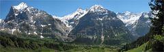 Panorama von Grindelwald