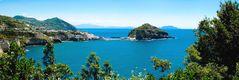 Panorama von S. Angelo/Ischia