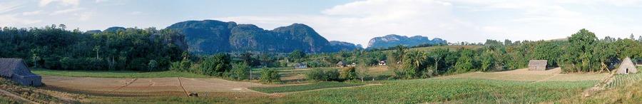 Panorama von Vinjales