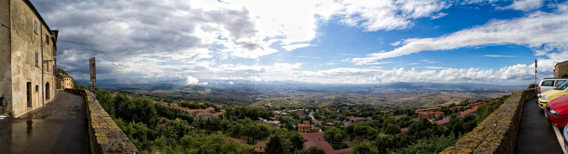Panorama von Volterra