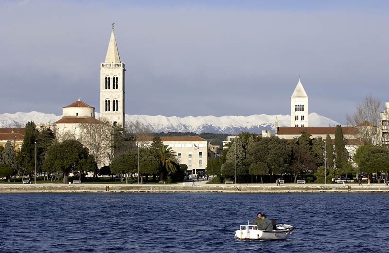 Panorama von Zadar / Kroatien