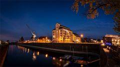 Panorama Wissenschaftshafen Magdeburg