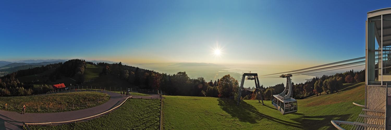 Panoramaausblick Pfänderbahn
