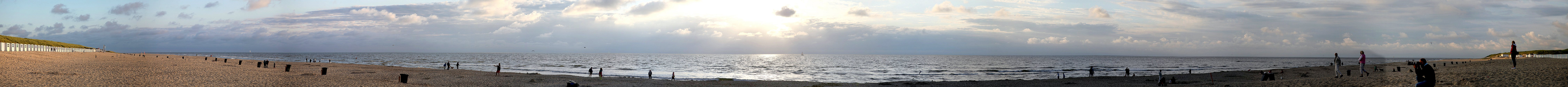 Panoramabild Texel paal 17