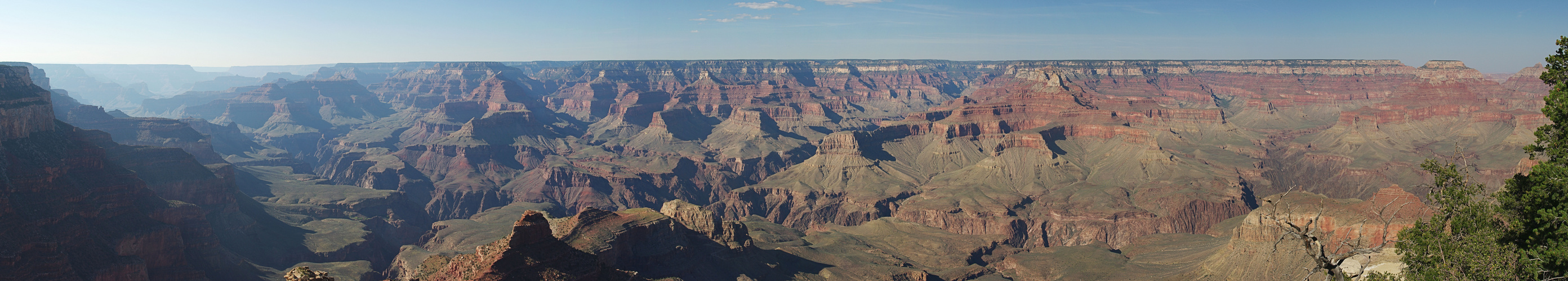 Panoramablick in den Grand Canyon vom Yaki Point