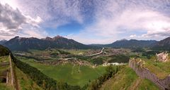 Panoramablick Reutte
